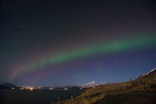 Matt Swinden - A Ribbon of Northern Lights