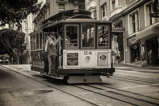 A ride on the streetcar by Hali Sowle