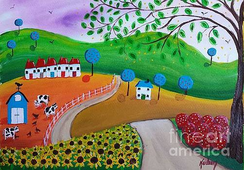 A Ride to the Farm by Karleen Kareem