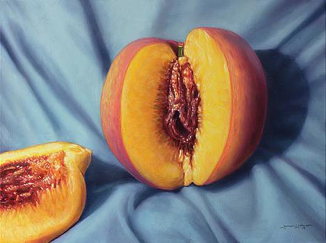 A Ripe Peach by James W Johnson
