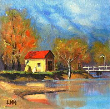 A river Bank by Ningning Li