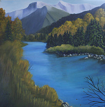 A River Runs Through It by Joanne Giesbrecht