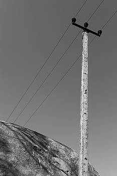 A Rock and a Pole, Hampi, 2017 by Hitendra SINKAR