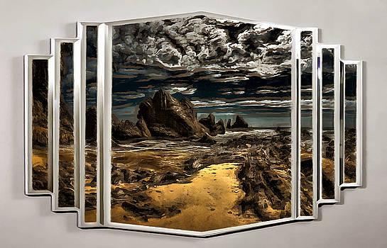 A Rocky Landscape by Mario Carini