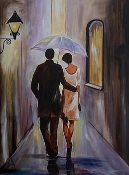 A Romantic Stroll by Leslie Allen