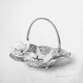 A rose in a candy basket by Anna Starkova