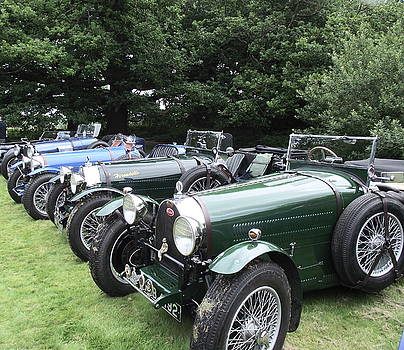 A Row of Bugatti's by Dawn Hay