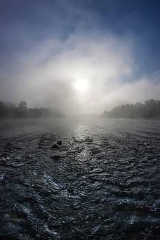 A rushing river by Davor Zerjav