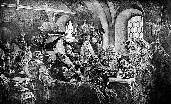 A Russian Wedding Feast by Guy Harnett