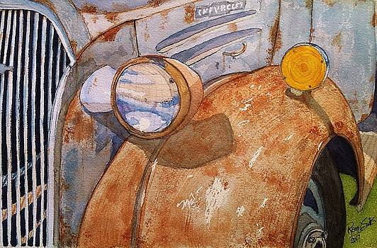 A Rusty Old Chevy by Rand Swift