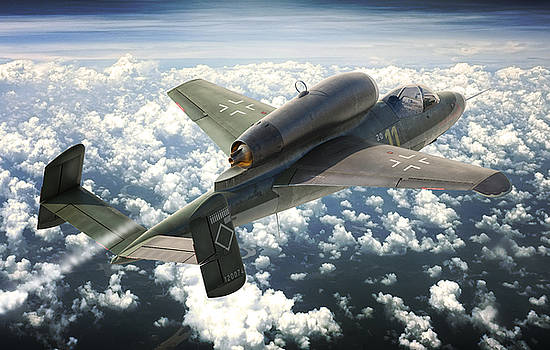 A Salamander Over the Clouds by Gino Marcomini