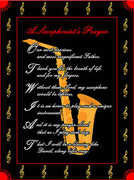 A Saxophonists Prayer_1 by Joe Greenidge