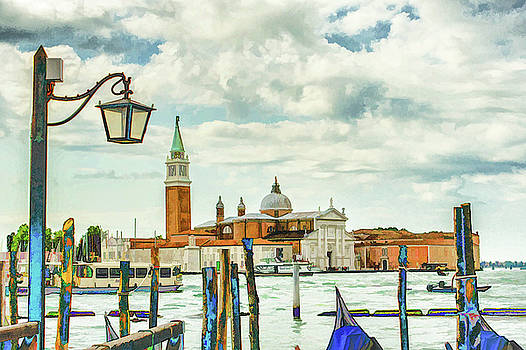 Lisa Lemmons-Powers - A Scene in Venice
