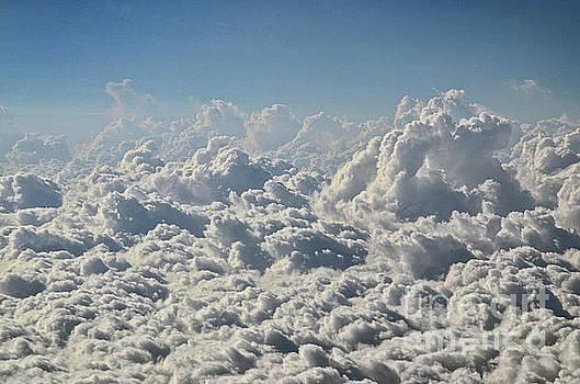 Spade Photo - A sea of clouds