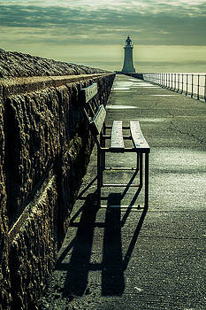 A seat with a view. by John Cox