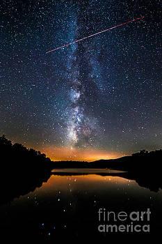 A Shooting Star by Robert Loe