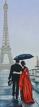 A Shower at the Trocadero by Andy Lloyd