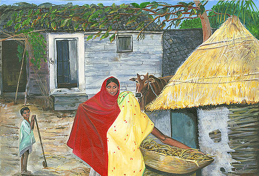 A Shy Woman by Sweta Prasad