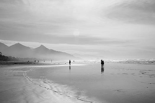 A Silver Day on the Beach by Dan Dooley