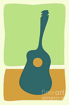 A Simple Guitar by Benjamin Harte
