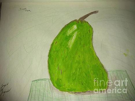 A simply pear by Joyce A Rogers