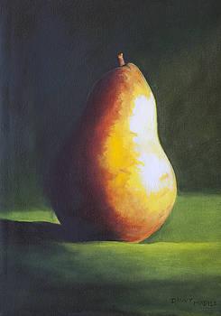 A Single Pear by Dinny Madill