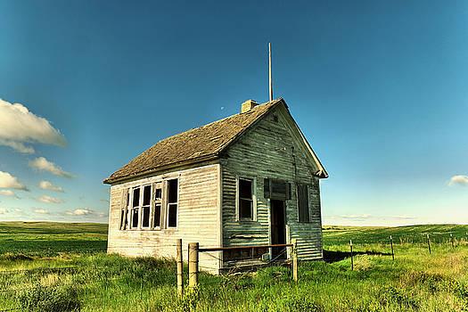 A single room school house by Jeff Swan