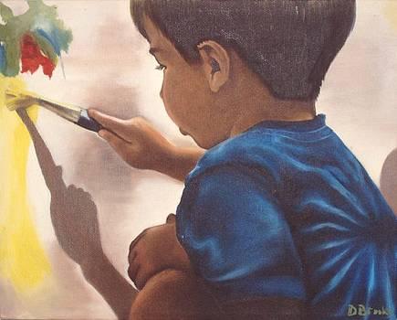 A Slash of Color by Dorothy Brooks