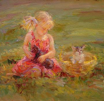 A Special Kitten by Diane Leonard