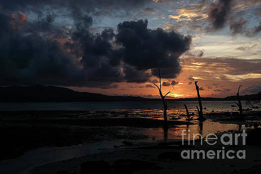 A Spectacular Sunset in the Andamans by Fotosas Photography
