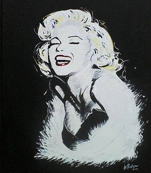 A splash of Marilyn by A Parker