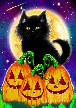 Nick Gustafson - A Spooky Cat Night