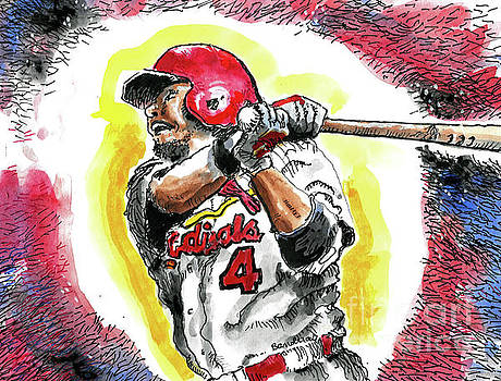A St. Louis Cardinal by Terry Banderas