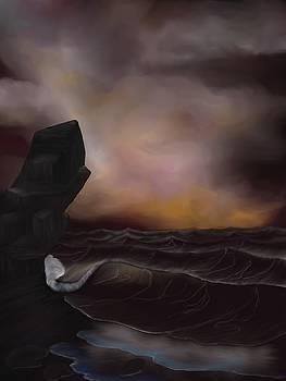 A Stormy Ocean by Alisha at AlishaDawnCreations