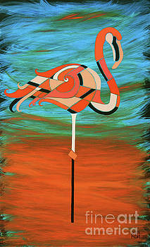A Straight Up Flamingo by Barbara Rush