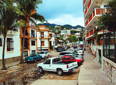 Kathy Kelly - A Street in Puerto Vallarta