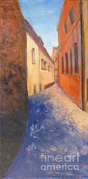 A Street in Spain by Vivian Haberfeld