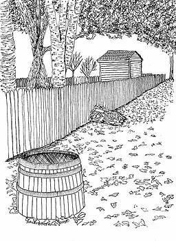 A Stroll Along the Fence by Dawn Boyer