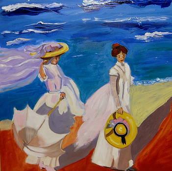 A stroll on the beach   by Rusty Woodward Gladdish