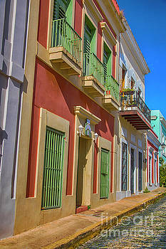 A Stroll through San Juan by Mariola Bitner