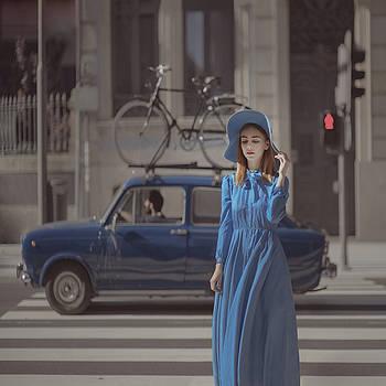 A Study In Blue 2 by Anka Zhuravleva