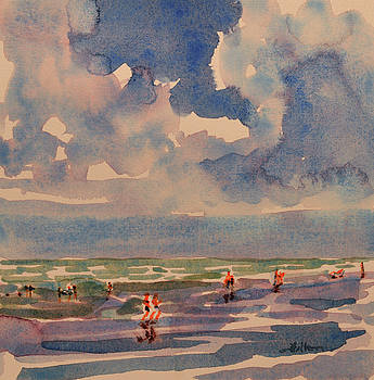 A sunny day at the beach by Julianne Felton