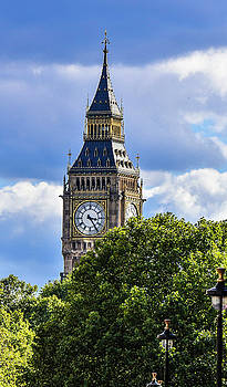 A sunny day in London Town by John Holloway