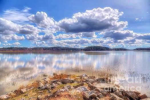 A sunny spring day by Veikko Suikkanen