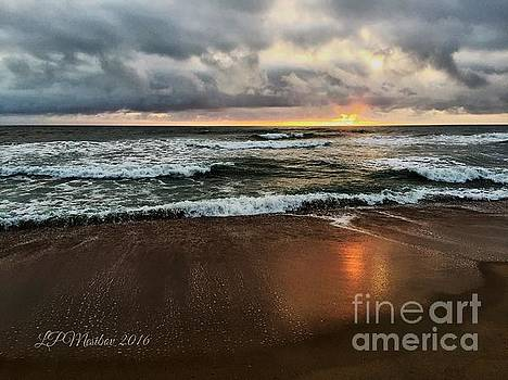 A Sunrise over Kitty Hawk by Linda Mesibov