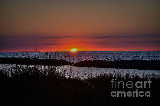 A Sunset on the OBX by Eric Geschwindner