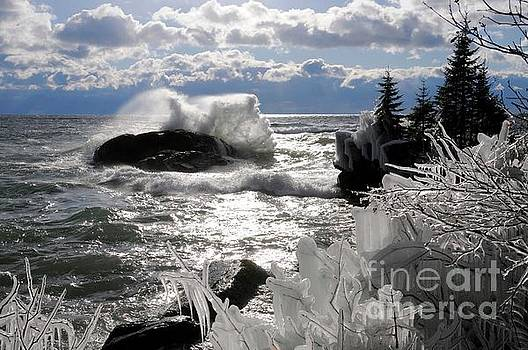 A Superior December Day by Sandra Updyke