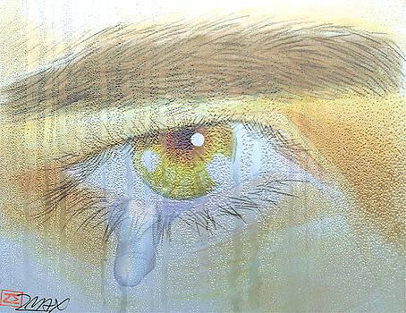 A teardrop kissed... by Zane  Maxwell