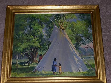 A Tepee by Bruce Pope