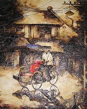 vietnamese leaf paintings artwork for sale ha noi ha. Black Bedroom Furniture Sets. Home Design Ideas
